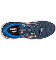 Brooks Transcend 7 - Laufschuh Stabil - Damen, Blue/Red
