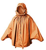 Brooks England Poncho CAMBRIDGE Stowable Rain Cape, Orange