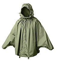 Brooks England Poncho CAMBRIDGE Stowable Rain Cape, Olive