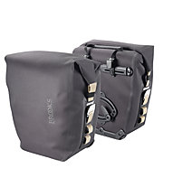 Brooks England Land's End Rear Travel Panniers - Fahrradtasche, Asphalt