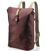 Brooks England Pickwick Day Pack 26 L - Fahrradrucksack, Red/Brown