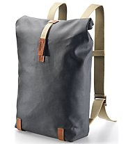 Brooks England Pickwick Day Pack 26 L - Fahrradrucksack, Grey/Brown