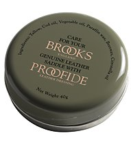 Brooks England Proofide 40g Tin - Pflegemittel Ledersättel, Green