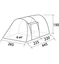 Brunner Arqus Outdoor 4 - Campingzelt