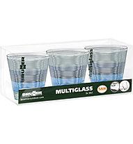 Brunner Set Multiglass Aquarius - bicchieri, Blue