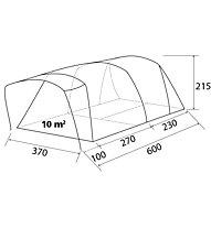 Brunner Paraiso 5/6 - tenda campeggio