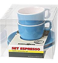 Brunner Set Espresso Spectrum - set tazzine da caffè, Blue