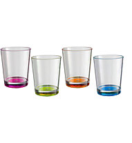 Brunner Set Multiglass Color - set bicchieri, Mixed