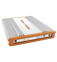 Brunton Solo 7,5 - Batterie, Silver/Orange
