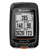 Bryton Rider 100E computer GPS bici, Black