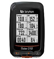 Bryton Rider 310T (GPS Radcomputer + Trittfrequenz- und Herzfrequenzsensor), Black