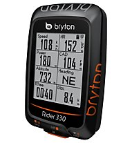 Bryton Computer bici GPS Rider 330, Black