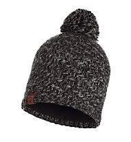 Buff Knitted & Polar Fleece Agna - Strickmütze, Black