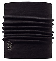 Buff Black Wool Thermal - Multifunktionstuch, Black