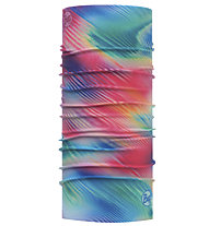 Buff Coolnet UV+ - Multifunktionstuch Wandern, Light Blue/Pink