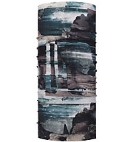 Buff Coolnet UV+ - Multifunktionstuch Wandern, Blue/White/Grey