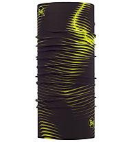 Buff Coolnet UV+® - Hals- und Nackenwärmer, Black/Yellow
