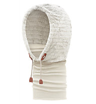 Buff Hoodie Thermal Buff Gardenia - Scaldacollo, White