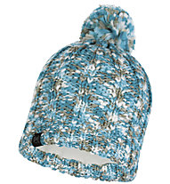 Buff Knitted & Polar Fleece Livy - Strickmütze, Light Blue