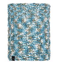 Buff Knitted & Polar Fleece Livy - scaldacollo - donna, Light Blue