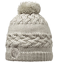 Buff Knitted & Polar Hat Savva Damen, Cream