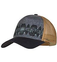 Buff Lifestyle Trucker - cappellino, Blue/Light Brown