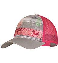 Buff Lifestyle Trucker Cap - Schirmmütze, Grey/Pink