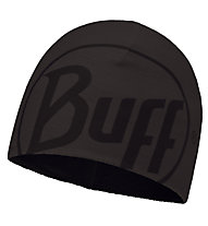 Buff Logo Graphite Hat Fleecemütze, Grey