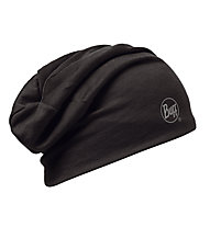 Buff Merino Wool 2 Layers Hat Buff Black, Black