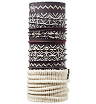 Buff Polar Thermal Buff Knitsnow - Scaldacollo, Bone/Knitsnow