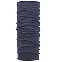 Buff Lightweight Merino Wool Solid Denim - Multifunktionstuch, Blue