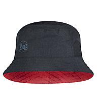 Buff Travel Bucket - Trekking-Hut - Damen, Red/Black