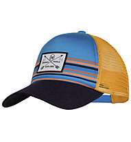 Buff Trucker - cappellino - bambino, Light Blue/Orange/Black