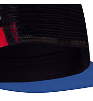 Buff Trucker - cappellino - bambino, Black/Light Blue/Red