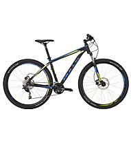 Bulls Bushtail 29 Hardtail-MTB, black matt/blue matt/yellow