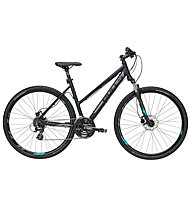 Bulls Cross Bike 1 (2019) - bici da trekking - donna, Black/Blue