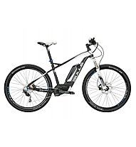 Bulls Six50 E 1 PS (2016) E-Mountainbike, Black matt/White
