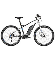 Bulls Six50 E 2 500 Wh Powerpack (2016) E-Mountainbike, Black matt/White/Blue