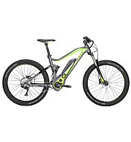 Bulls Six50 TR1 27,5+ 2018 - eMountainbike, Grey/Black/Green
