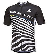 Bulls Team Bulls Zebra - maglia bici - uomo, Black/White