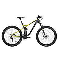 Bulls Wild Ronin 1 (2017) All Mountain Fully MTB, Black/Yellow