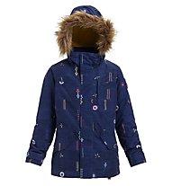Burton Aubrey Parka - Snowboardjacke - Kinder, Blue