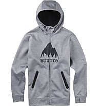 Burton Bonded Full-Zip Hoodie (2015), High Rise Heather