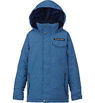 Burton Boy's Amped Kinder-Snowboardjacke, Glacier Blue