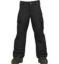 Burton Boys' Exile Cargo Pant Snowboardhosen, Black