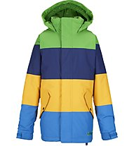 Burton Boys' Symbol giacca snowboard (2014/15), C-Prompt/Deep Sea/Yolky/Mascot