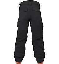 Burton Boys' Exile Cargo Pant Snowbooardhose, True Black