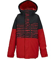 Burton Boys' Symbol giacca, Burner Sloppy Stripe Block