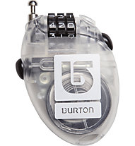 Burton Cable Lock Lucchetto, Clear