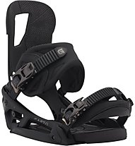 Burton Cartel re: flex - attacchi snowboard, Black